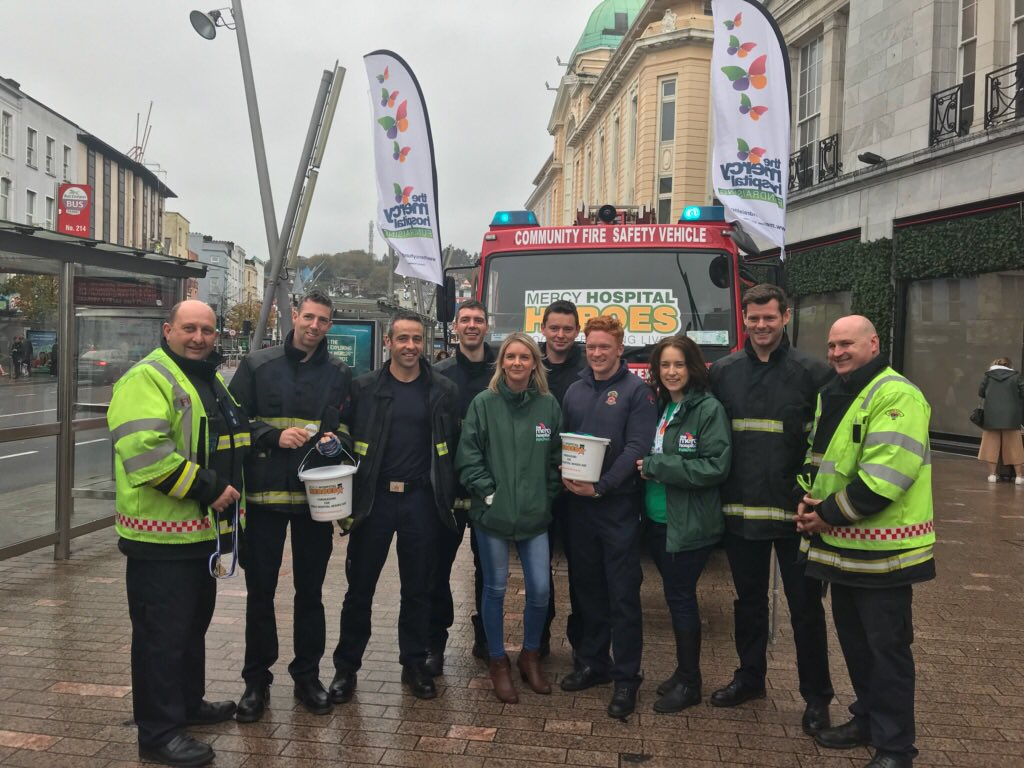 Staff from the Cork City Fire Brigade