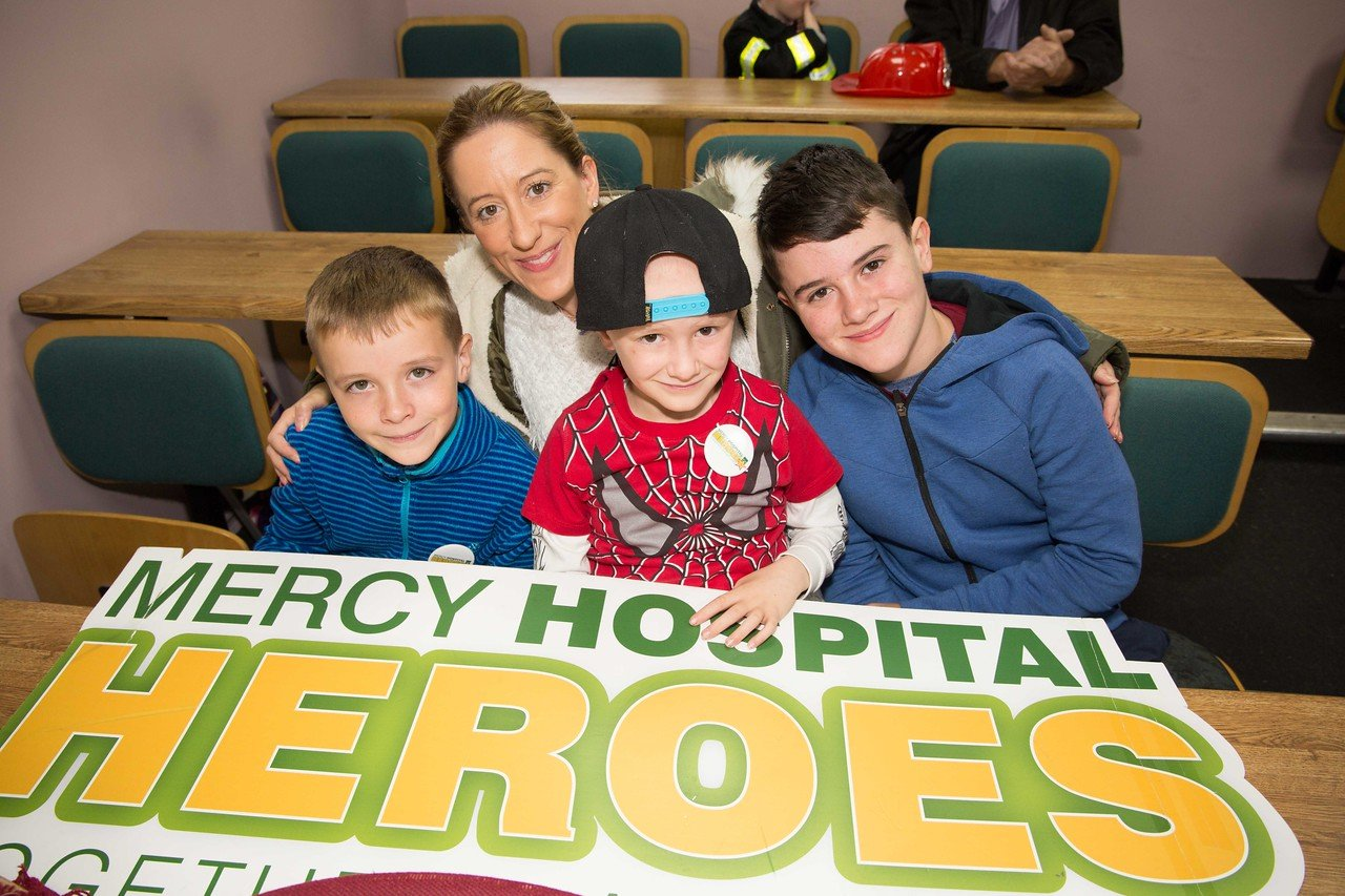 Heroes Trip to the Cork City Fire Station